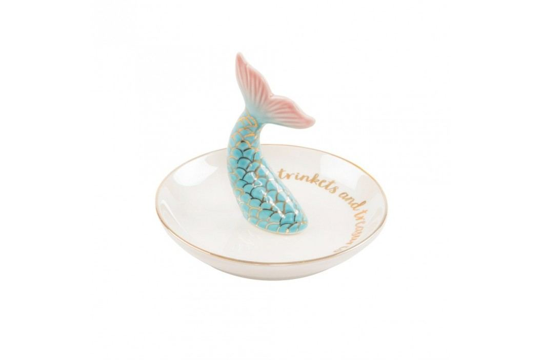 Platou decorativ Sass & Belle Mermaid Tail Trinket Farfurii