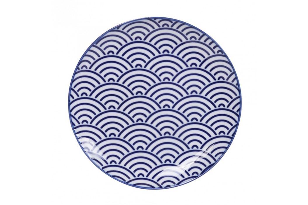 Farfurie din porțelan Tokyo Design Studio Wave, ø 16 cm Farfurii