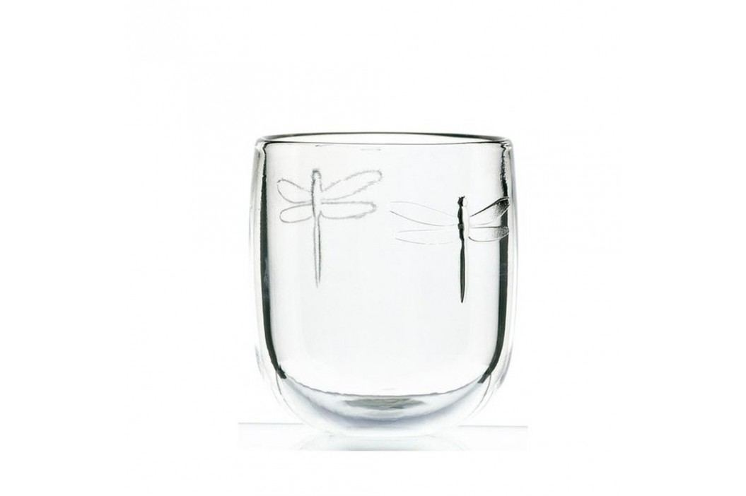 Pahar din sticlă La Rochère Libellules, 280 ml Accesorii bucătărie