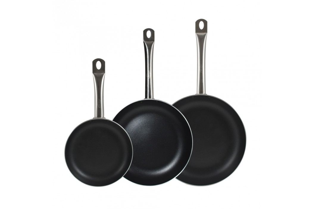 Set 3 tigăi Bergner Professional Chef
