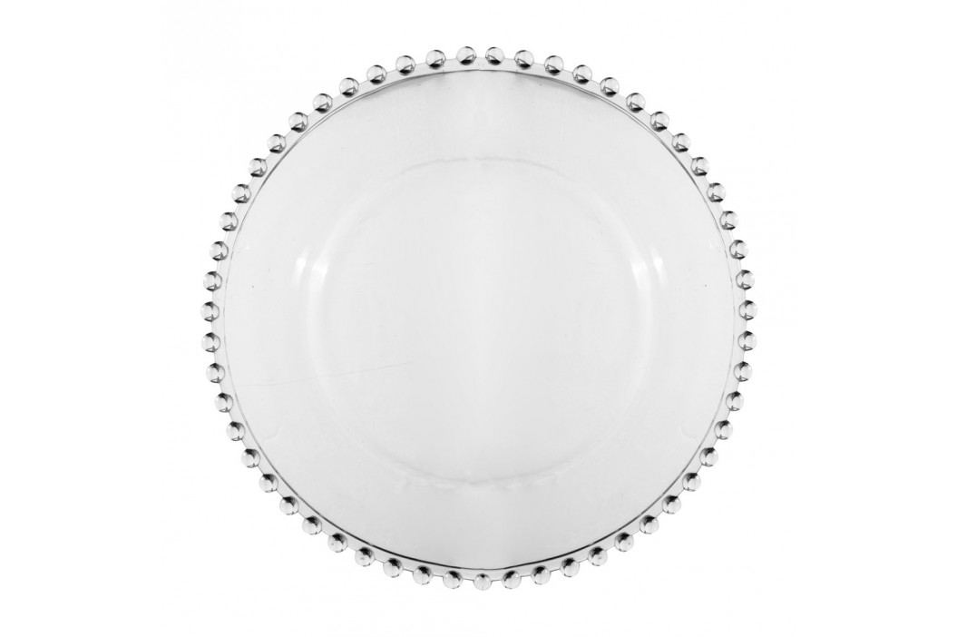 Farfurie din sticlă pentru desert Côté Table Pearls Accesorii bucătărie
