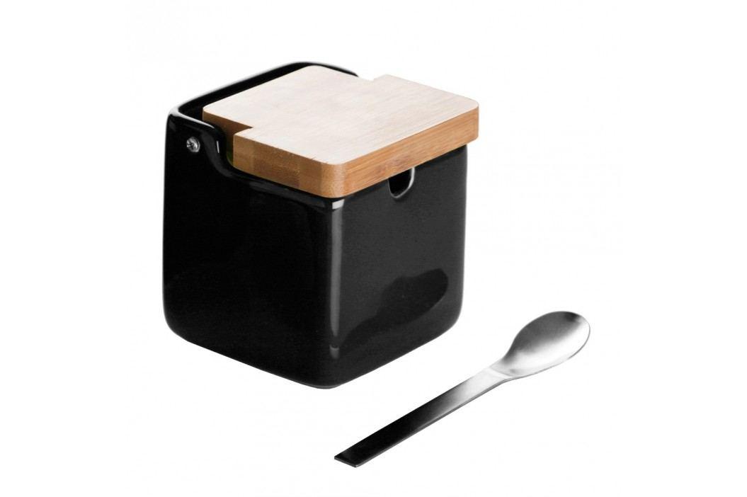 Zaharniță cu linguriță Versa Black Basic Solnițe și pepernițe