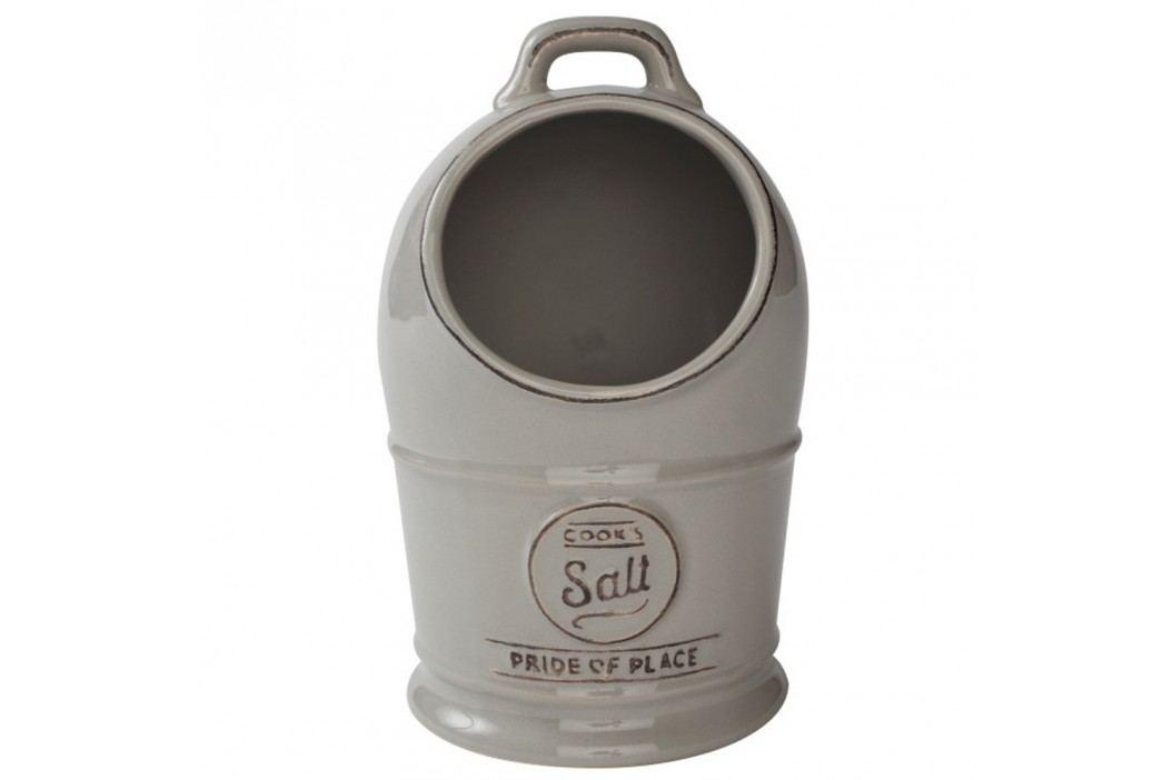 Recipient din ceramică pentru sare T&G Woodware Pride of Place, gri Solnițe și pepernițe