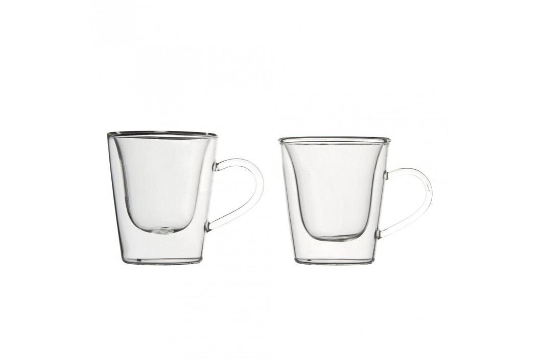 Set 2 pahare cu pereți dubli pentru espresso Bredemeijer, 120 ml Pahare și borcane
