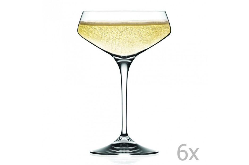 Set 6 pahare pentru vin spumant RCR Cristalleria Italiana Alberta Pahare și borcane