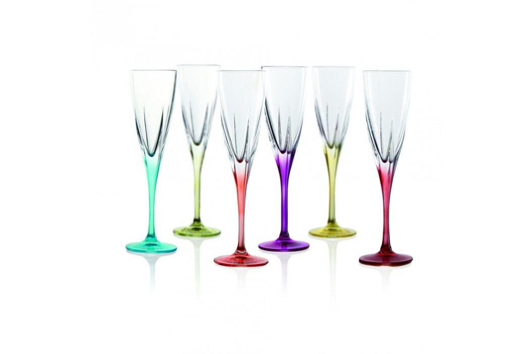 Set 6 pahare pentru vin spumant RCR Cristalleria Italiana Gemma Pahare și borcane