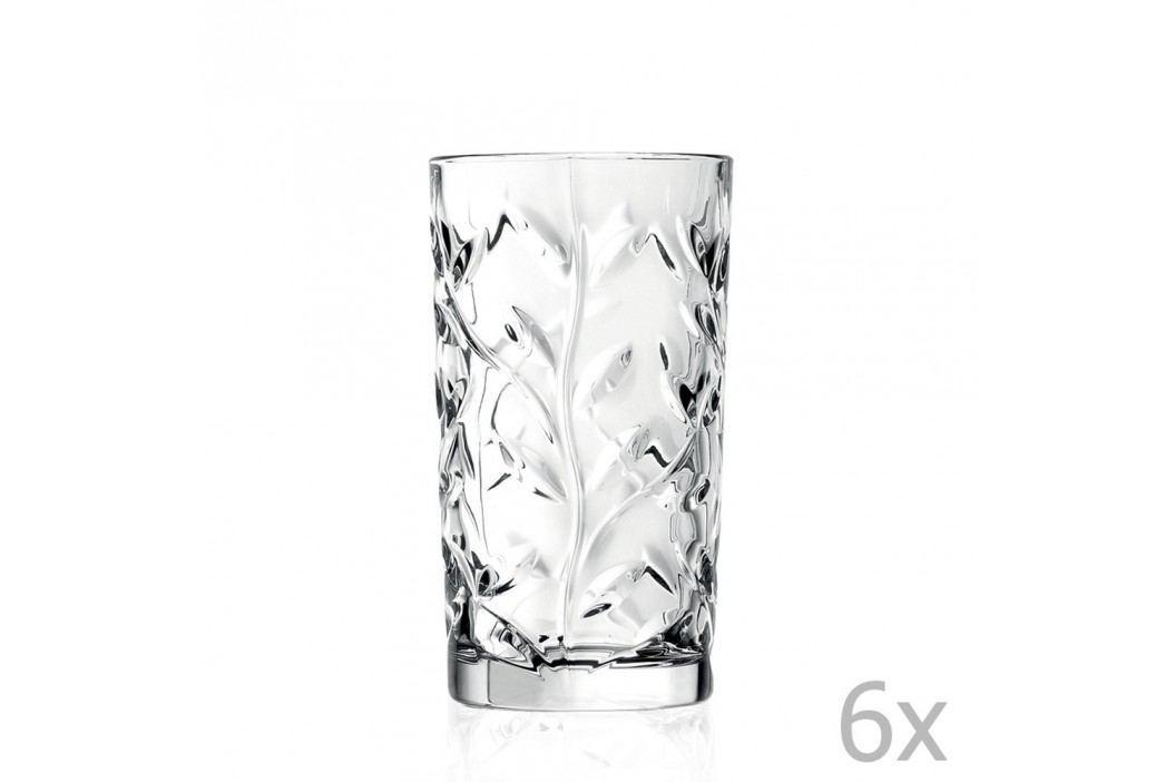 Set 6 pahare RCR Cristalleria Italiana Abelie Pahare și borcane