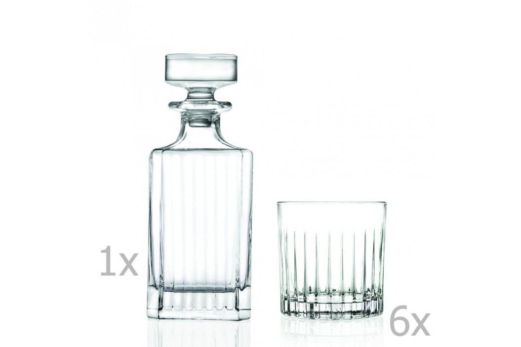Set carafă și 6 pahare RCR Cristalleria Italiana Giustina Pahare și borcane