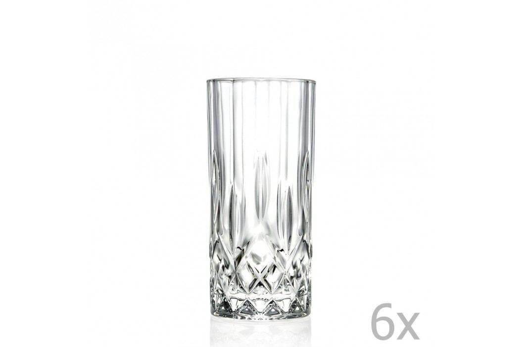 Set 6 pahare RCR Cristalleria Italiana Jemma Pahare și borcane