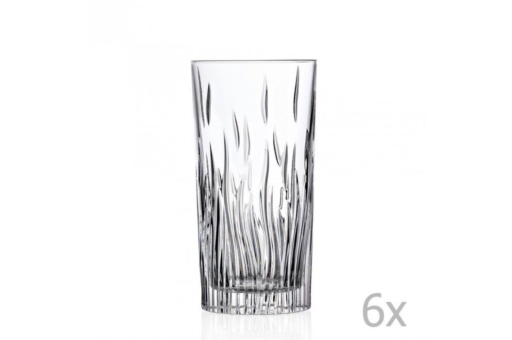 Set 6 pahare RCR Cristalleria Italiana Luisa Pahare și borcane