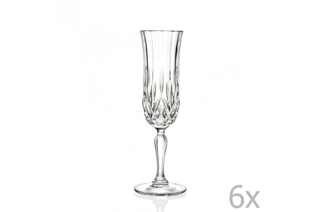 Set 6 pahare pentru vin spumant RCR Cristalleria Italiana Maddalena Pahare și borcane