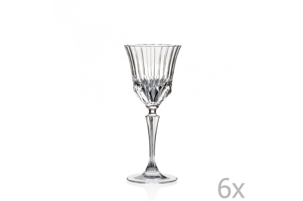 Set 6 pahare RCR Cristalleria Italiana Serafina Pahare și borcane
