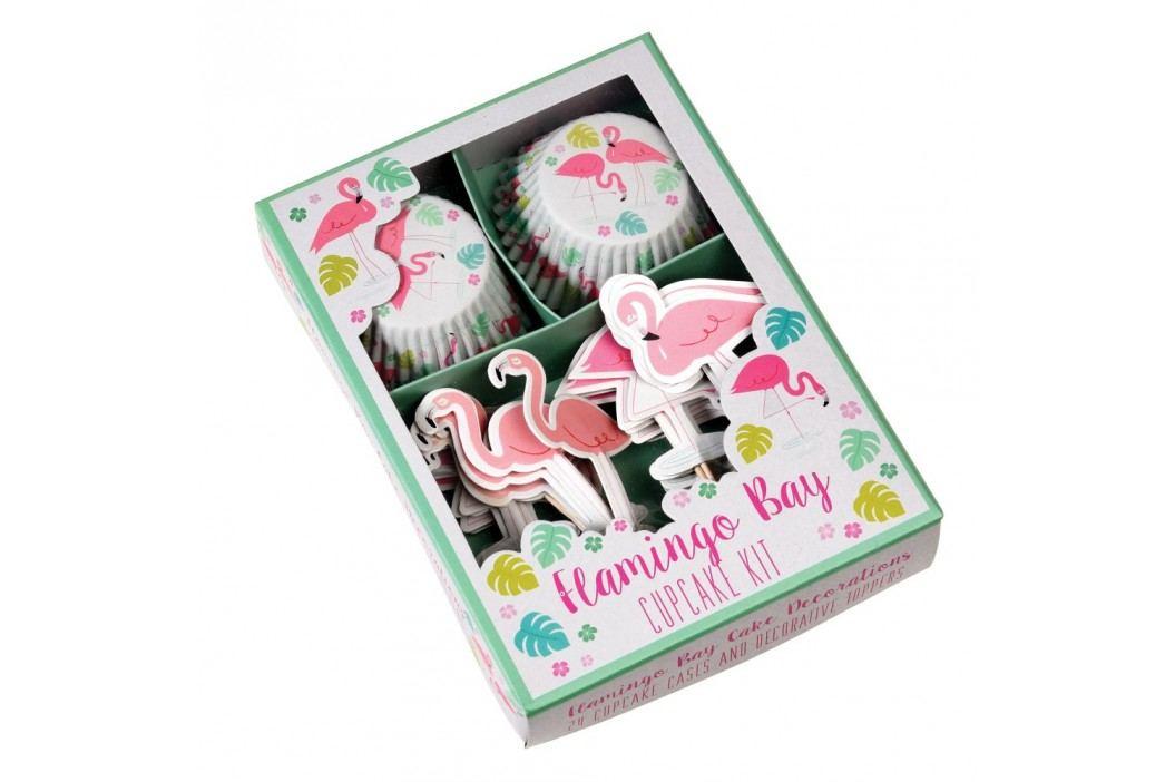 Set pentru decorat brioșe Rex London Flamingo Bay Accesorii pentru gătit și copt