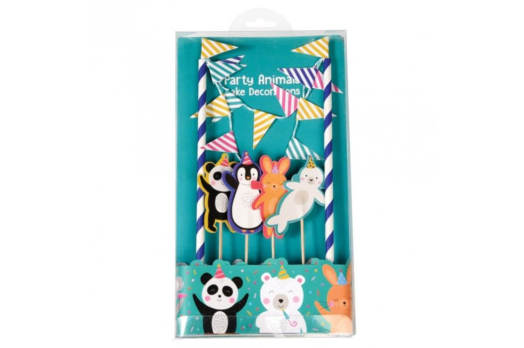 Set pentru decorat tortul Rex London Party Animals