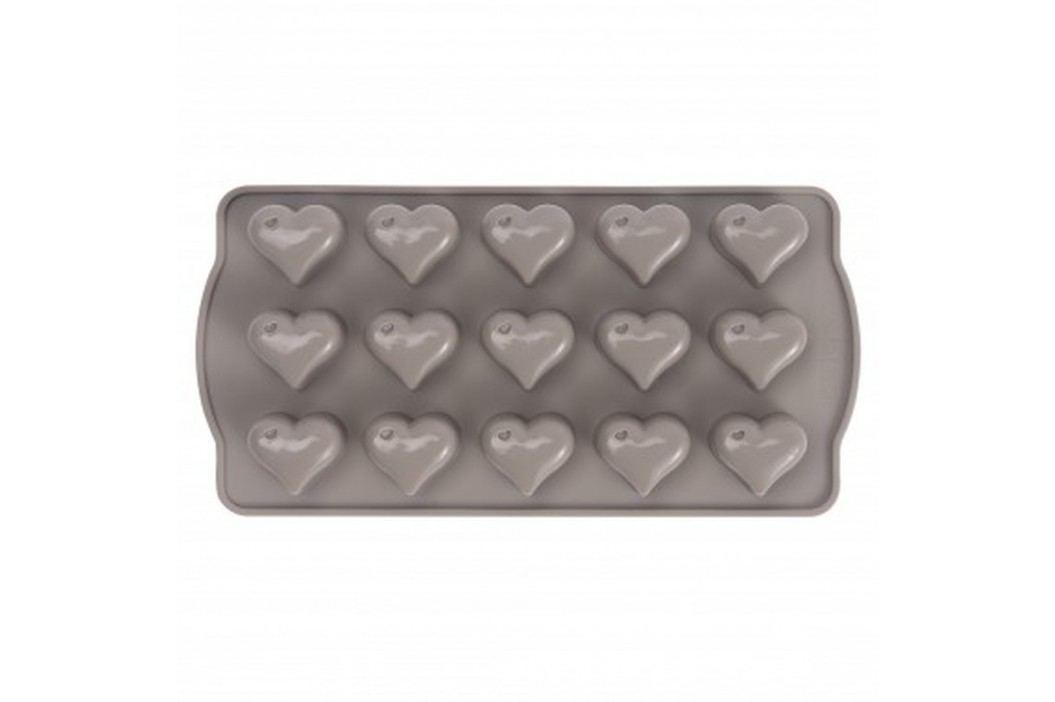 Formă din silicon pentru bomboane în formă de inimă Sabichi Cone, gri Recipiente și forme de copt