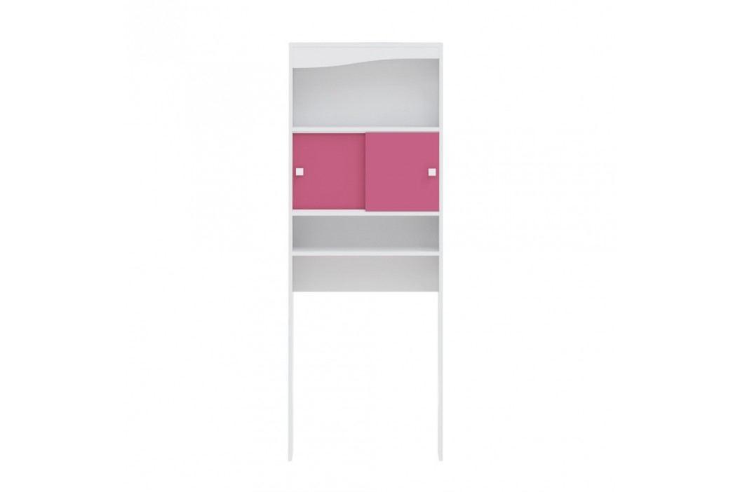 Dulap baie pentru mașina de spălat Symbiosis André, lățime60cm, roz Dulapuri de baie