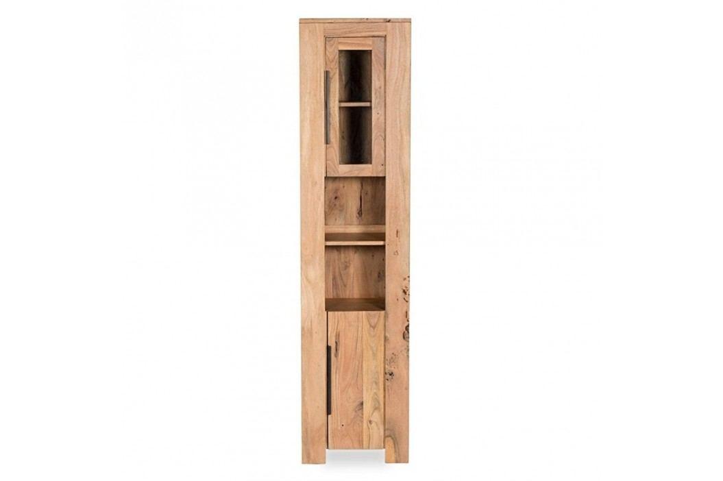 Dulap înalt pentru baie din lemn de salcâm Woodking Wellington Dulapuri de baie