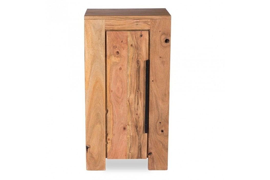 Dulap mic pentru baie din lemn de salcâm Woodking Wellington Dulapuri de baie