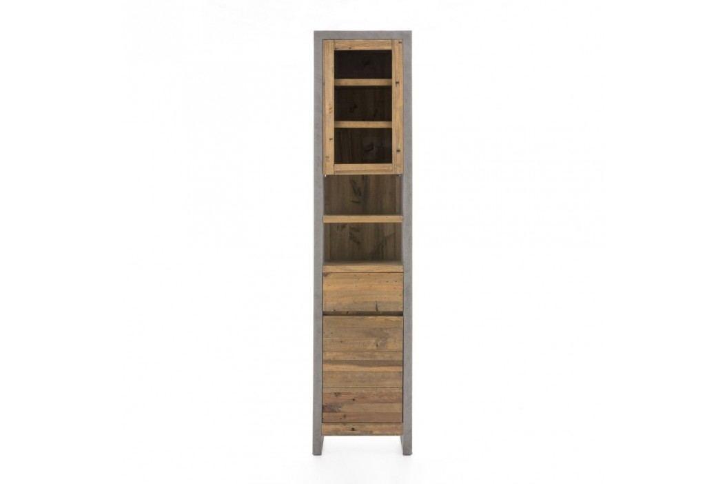 Dulap înalt pentru baie din lemn de pin Woodking Stonewall Dulapuri de baie