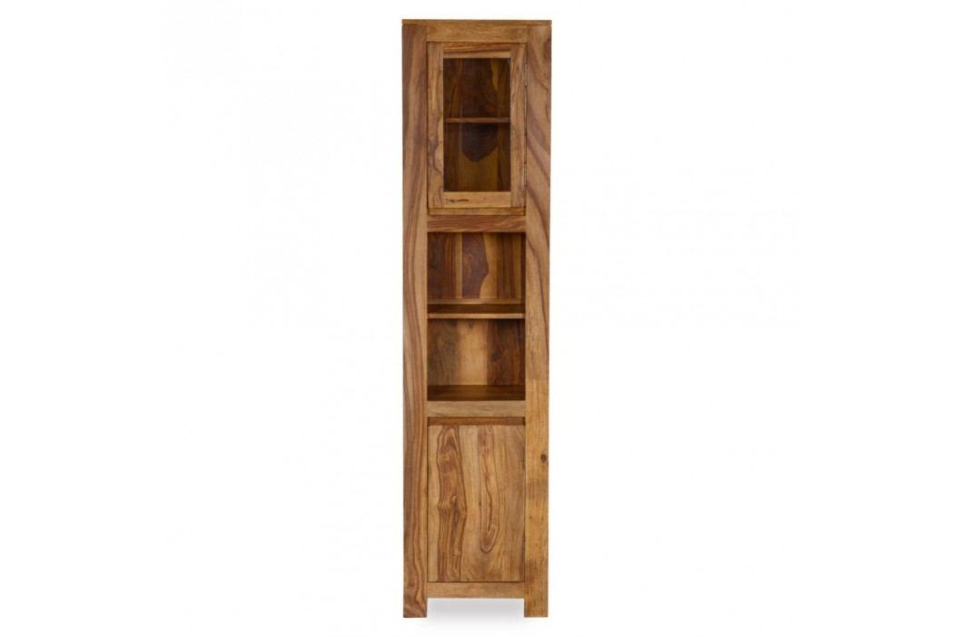 Dulap înalt pentru baie din lemn de palisandru Woodking Lee Dulapuri de baie