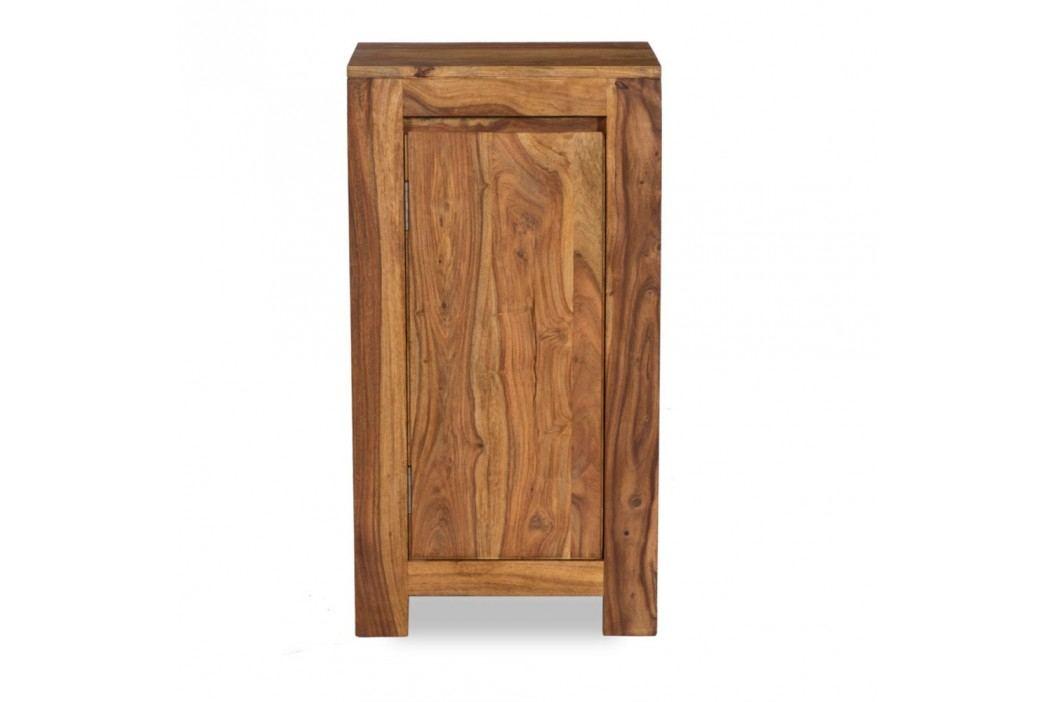 Dulap mic pentru baie din lemn de palisandru Woodking Lee Dulapuri de baie