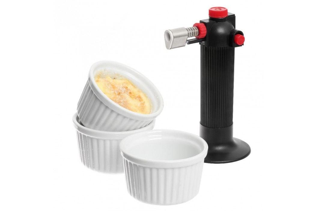 Set pentru Crème Brûlée Premier Housewares Chefs Recipiente și forme de copt