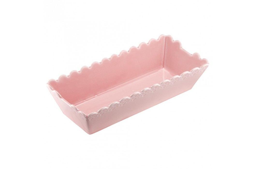 Formă de copt din porțelan Ladelle Bake, roz Recipiente și forme de copt