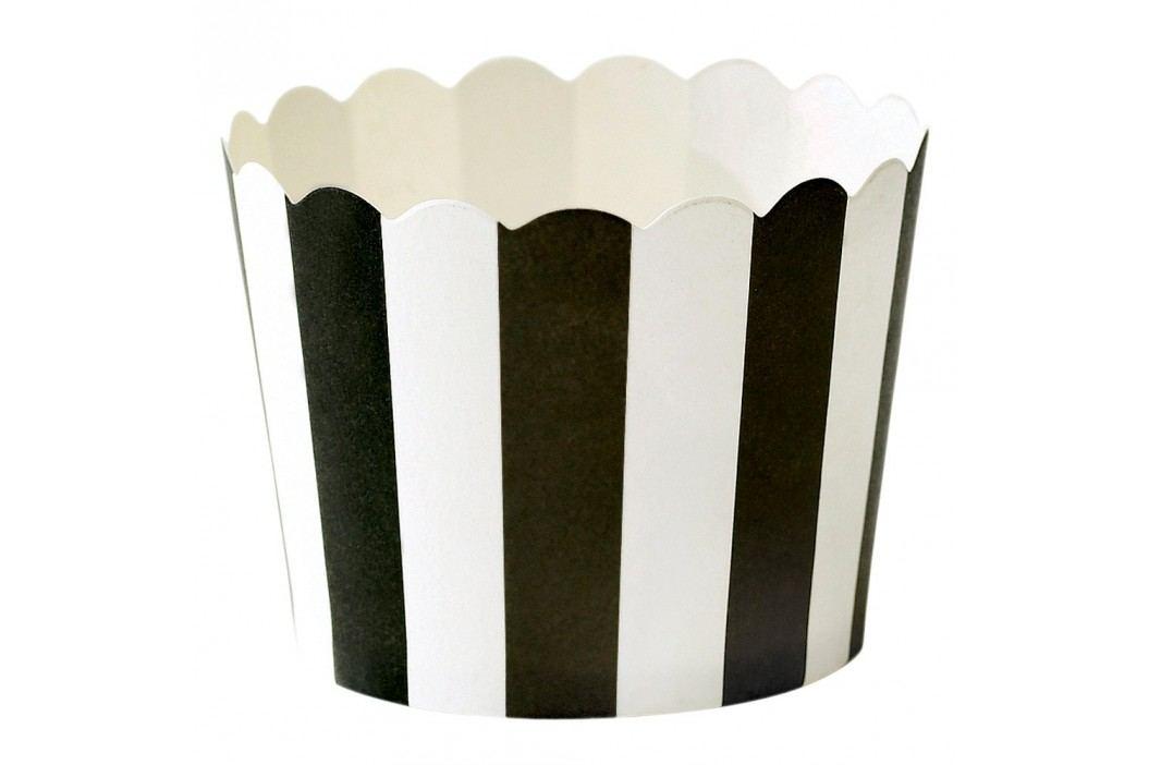 Set 24 coșulețe hârtie pentru copt Miss Étoile Stripe Recipiente și forme de copt