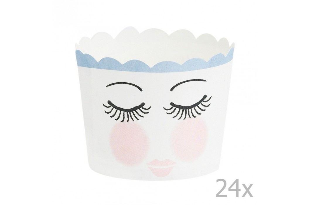 Set 24 coșulețe pentru copt Miss Étoile Eyes Recipiente și forme de copt