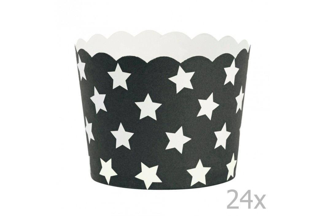 Set 24 coșulețe copt Miss Étoile Stars Recipiente și forme de copt
