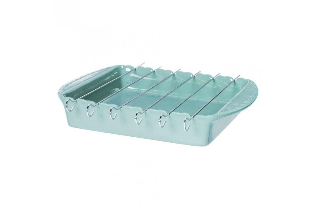 Tavă pentru frigărui Côté Table Carmin BBQ, albastru Recipiente și forme de copt
