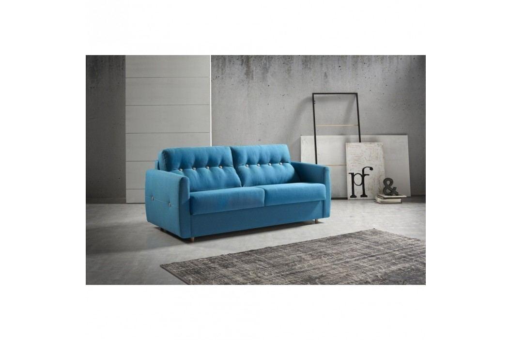 Canapea extensibilă Suinta Como, lățime 170 cm, albastru Canapele