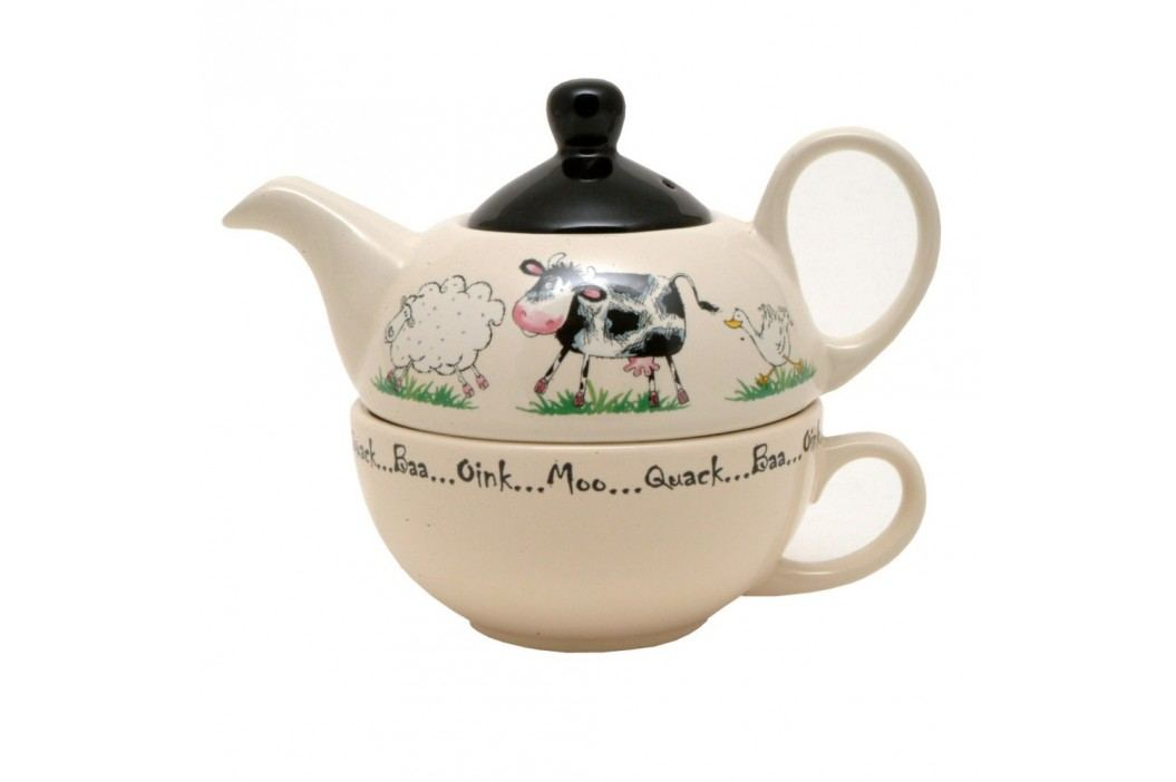 Ceainic și cană, 2 în 1, Price & Kensington Home Farm, 400 ml Ceainice