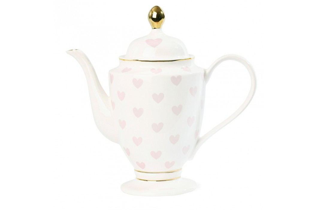 Ceainic Miss Etoile, 1 l, alb - roz Ceainice