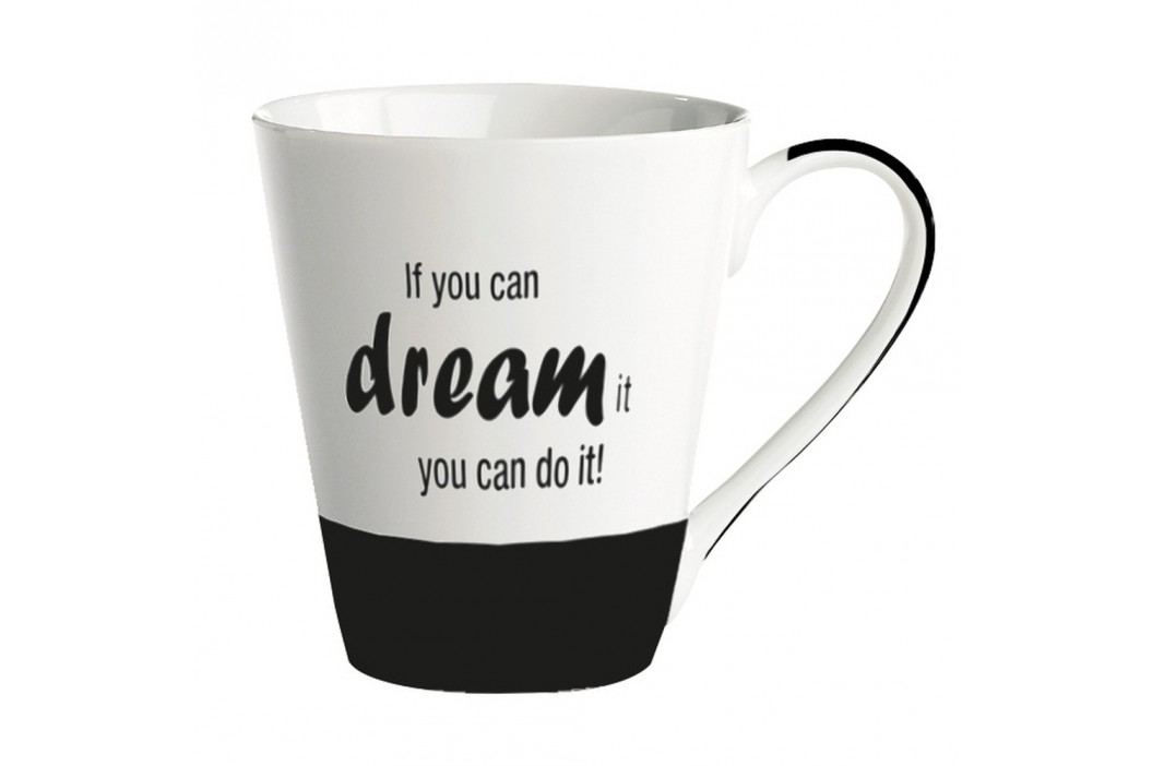 Cană porțelan KJ Collection If you can dream it you can do it!, 300 ml Căni