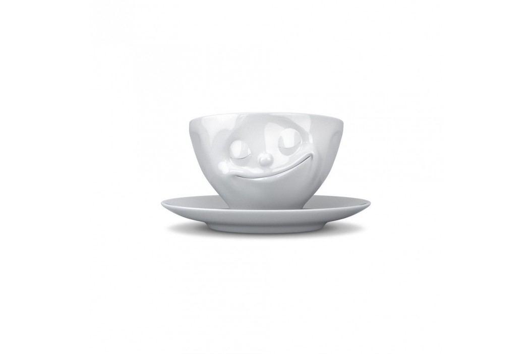 Ceașcă pentru espresso 58products Fericire, alb Căni