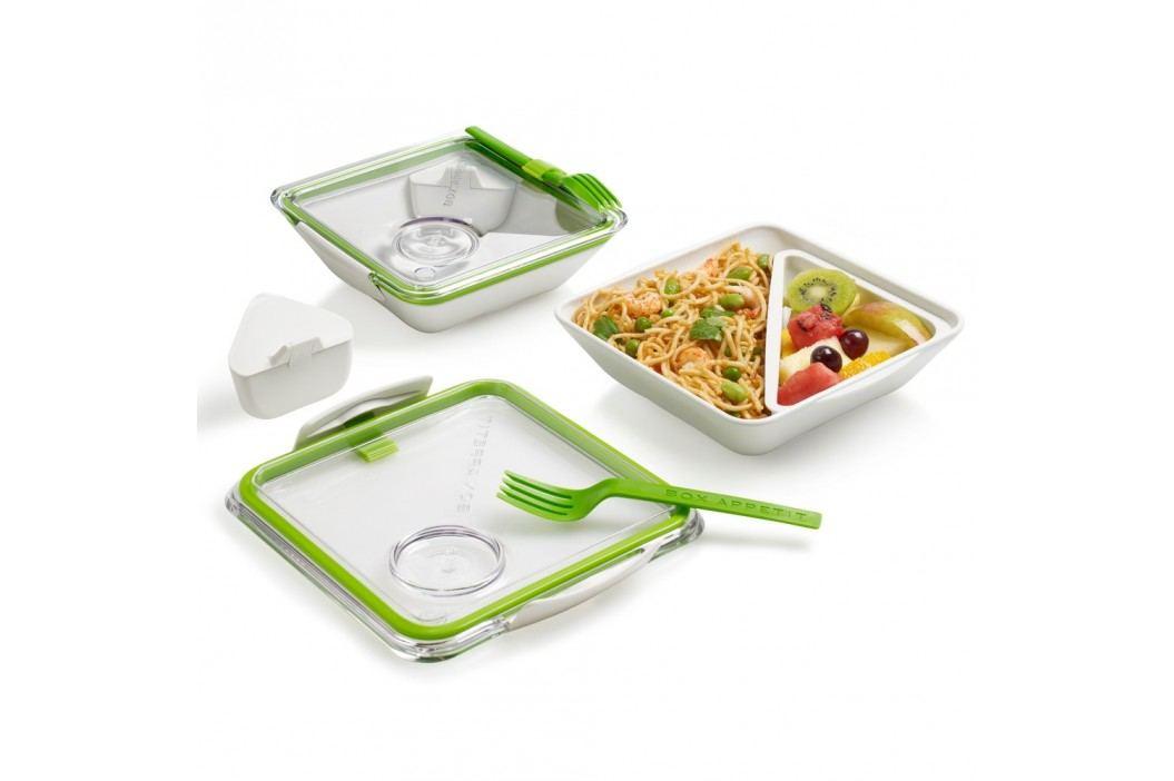 Cutie pentru gustare Apetit, alb-verde Accesorii bucătărie