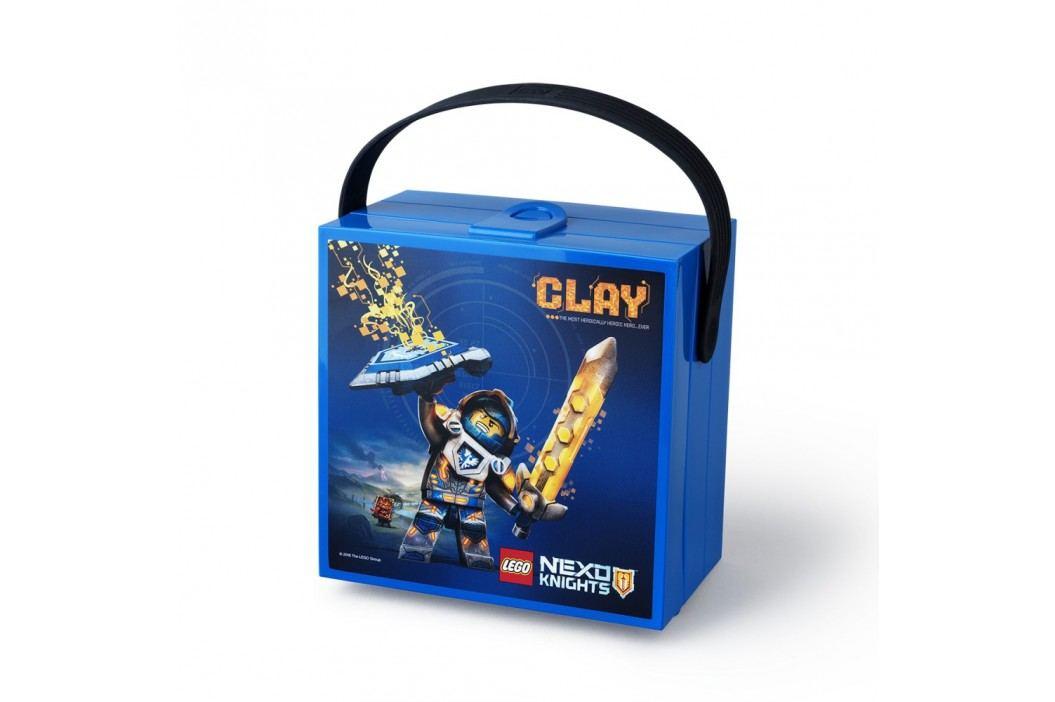 Cutie depozitare cu mâner LEGO® NEO Knights, albastru Accesorii bucătărie