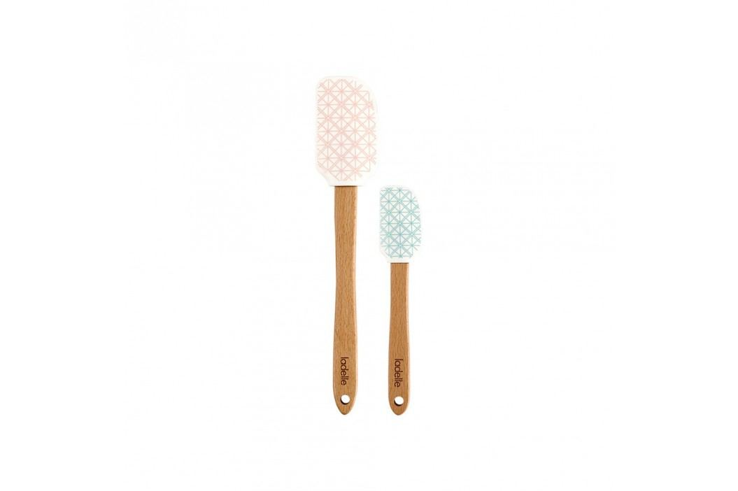 Set 2 spatule de silicon Ladelle Bake The World