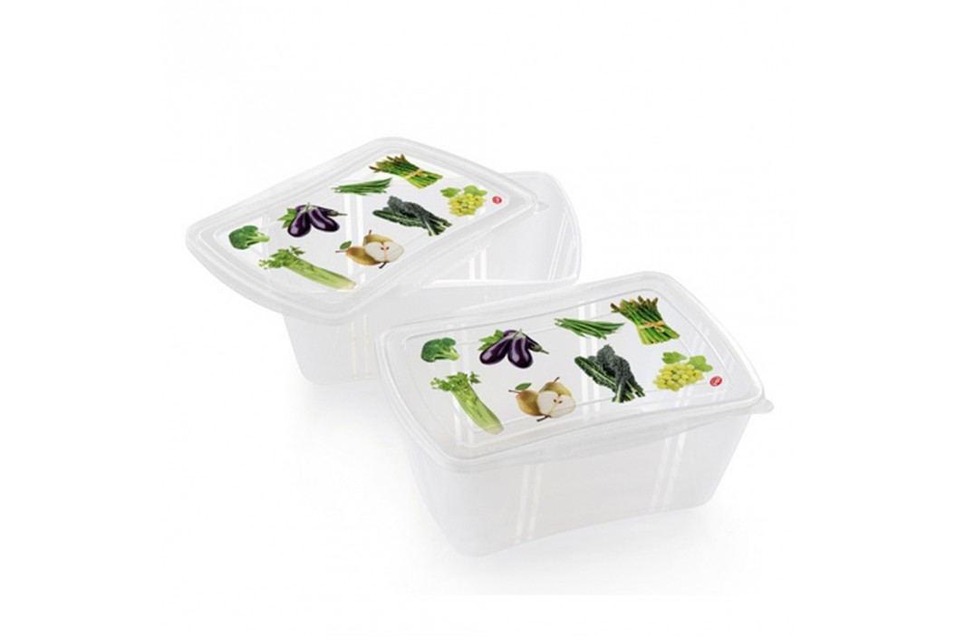 Set 2 caserolele alimentare Snips Classic, 2 l Doze, cutii, coșulețe
