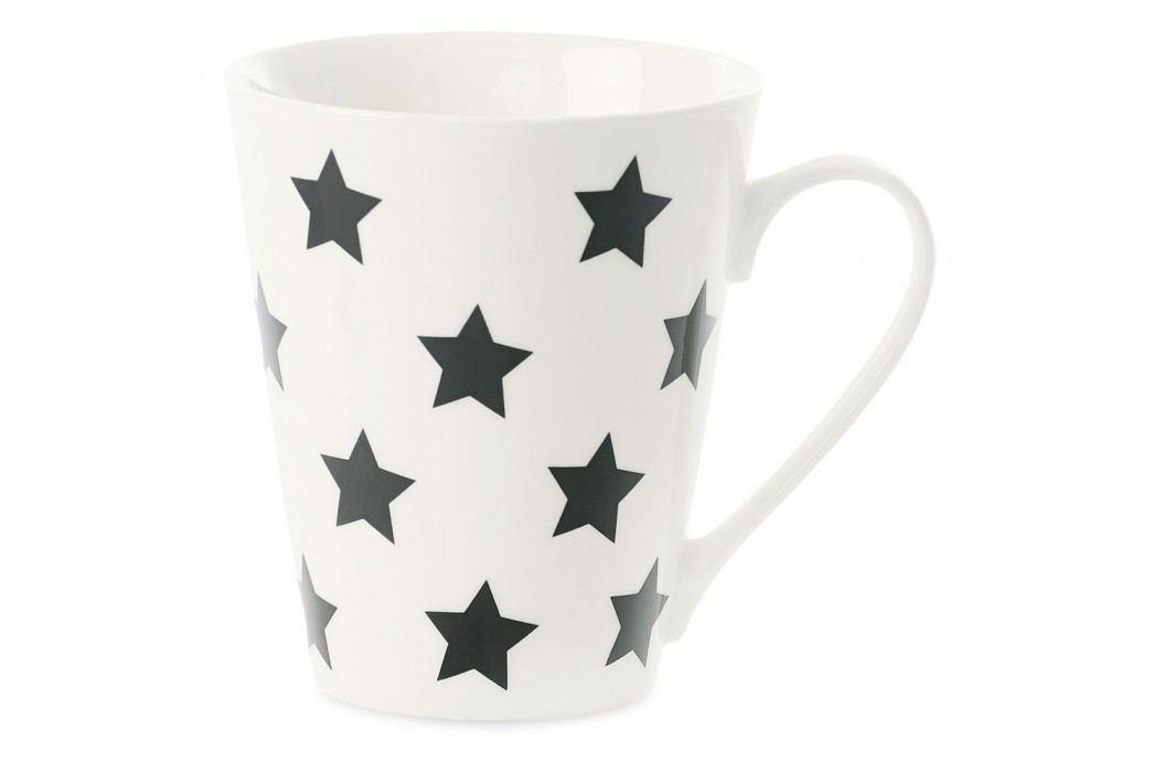 Cană din porțelan Miss Étoile Coffee Black Stars Căni