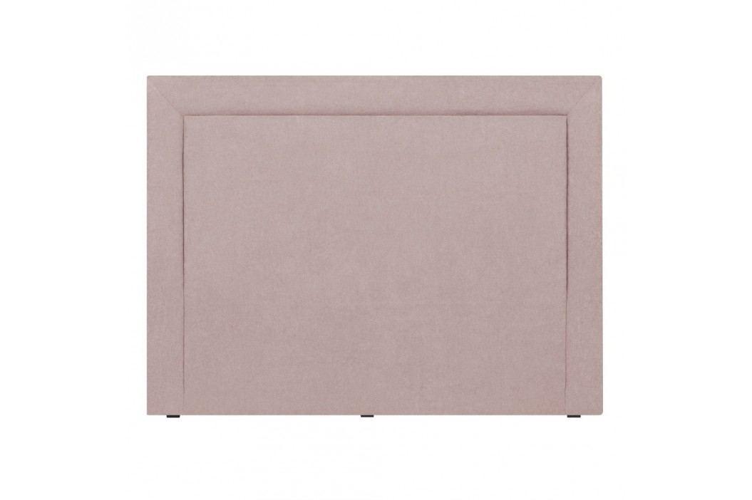 Tăblie de pat Mazzini Sofas Ancona, 200 x 120 cm, roz Paturi matrimoniale