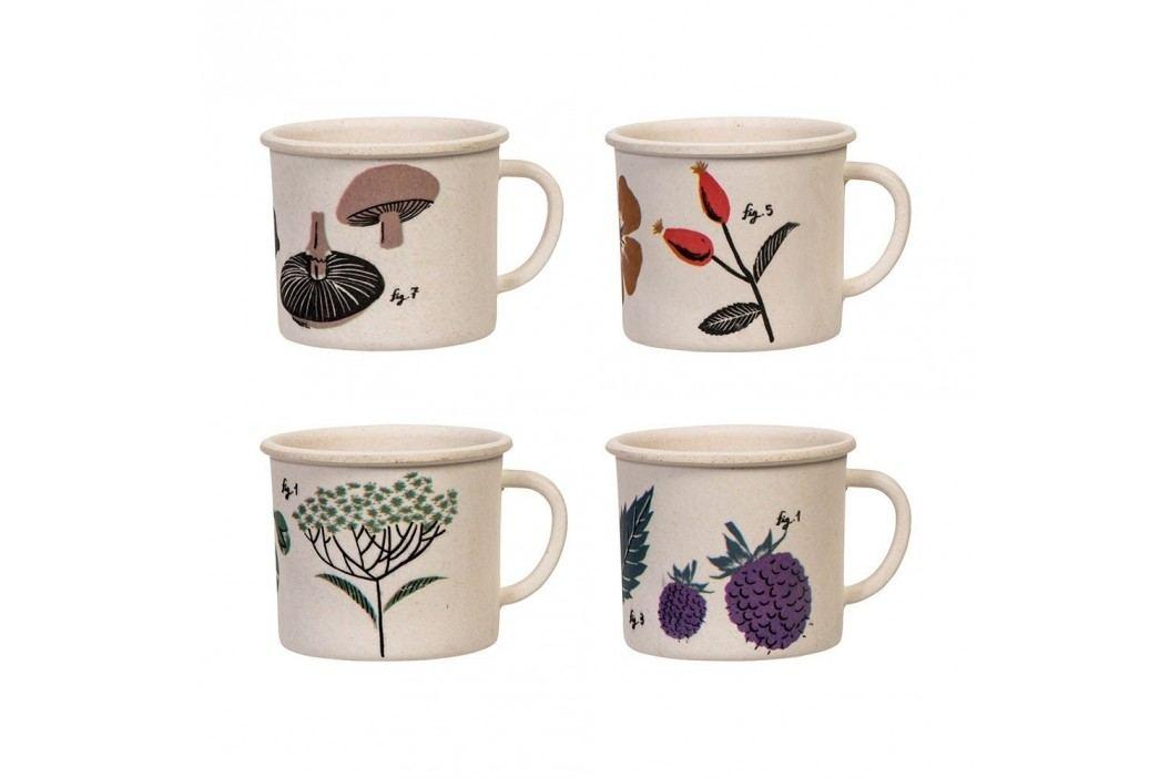 Set 4 cești pentru espresso Magpie Flora Căni