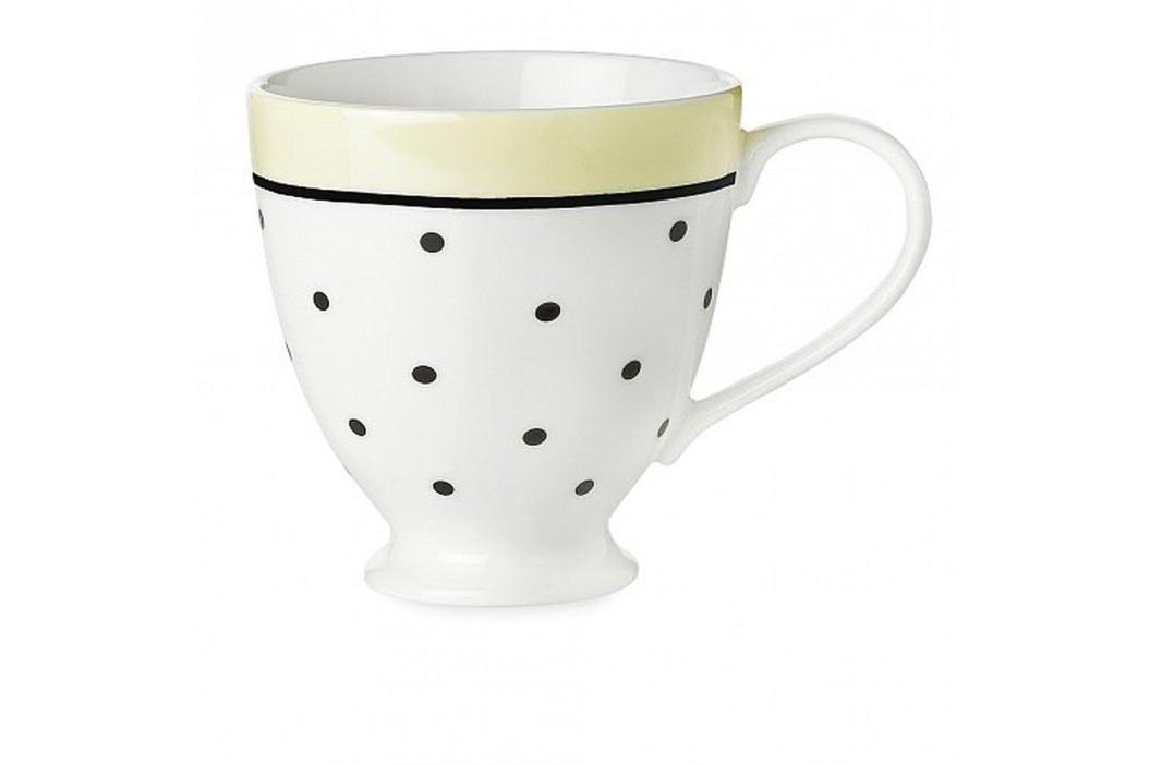 Cană ceramică Miss Étoile Black Dots And Lemon Căni