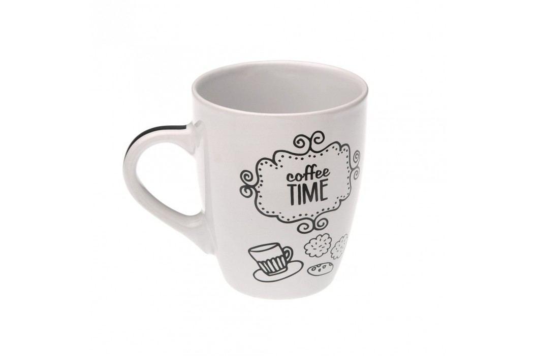 Cană Versa Coffee Time, alb Căni