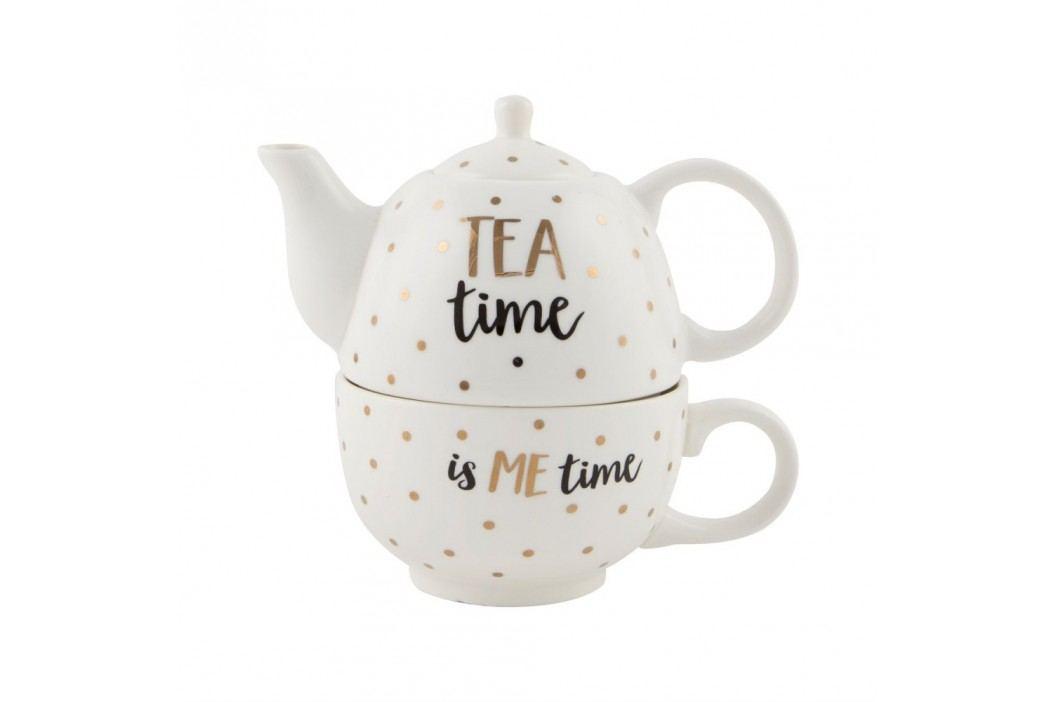 Ceainic cu cană Sass & Belle Tea Time Căni