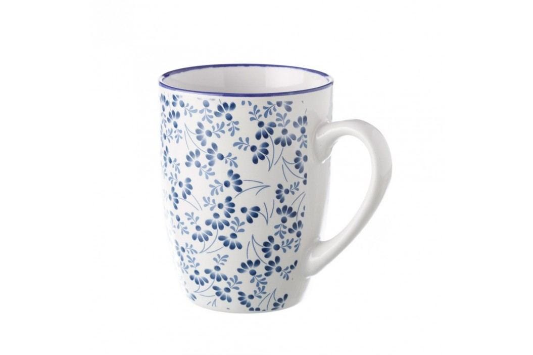 Cană Unimasa Meadow, albastru - alb Căni
