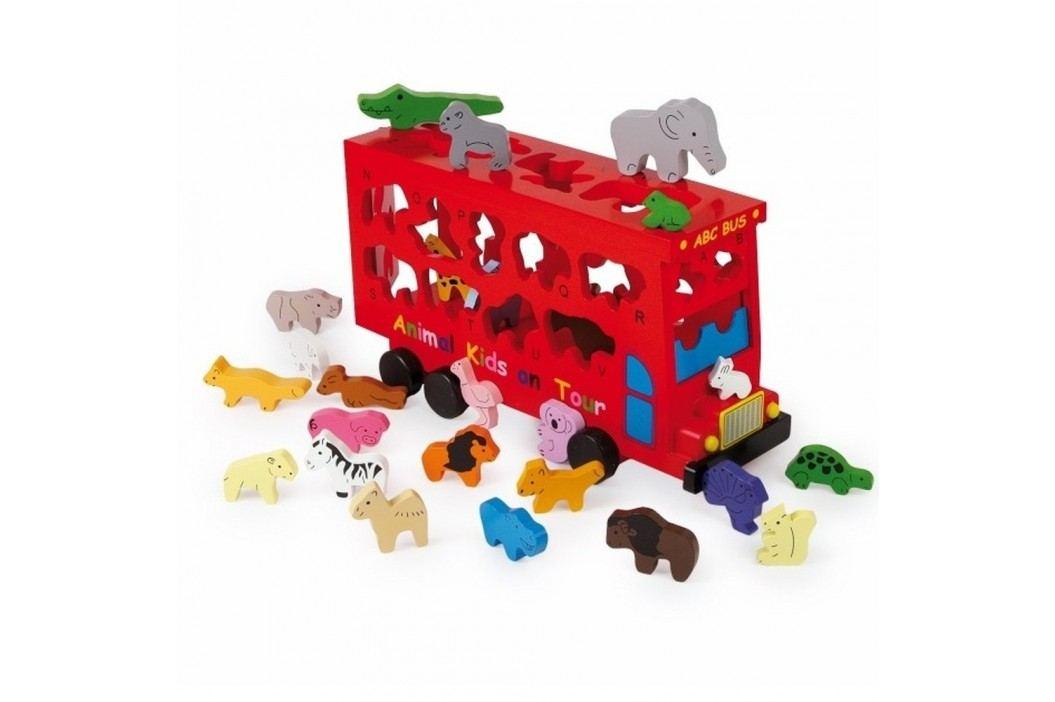 Puzzle Legler ABC Bus Cadouri