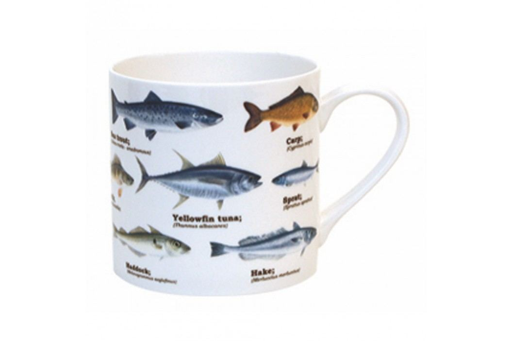 Cană Gift Republic Multi Fish Blue Căni