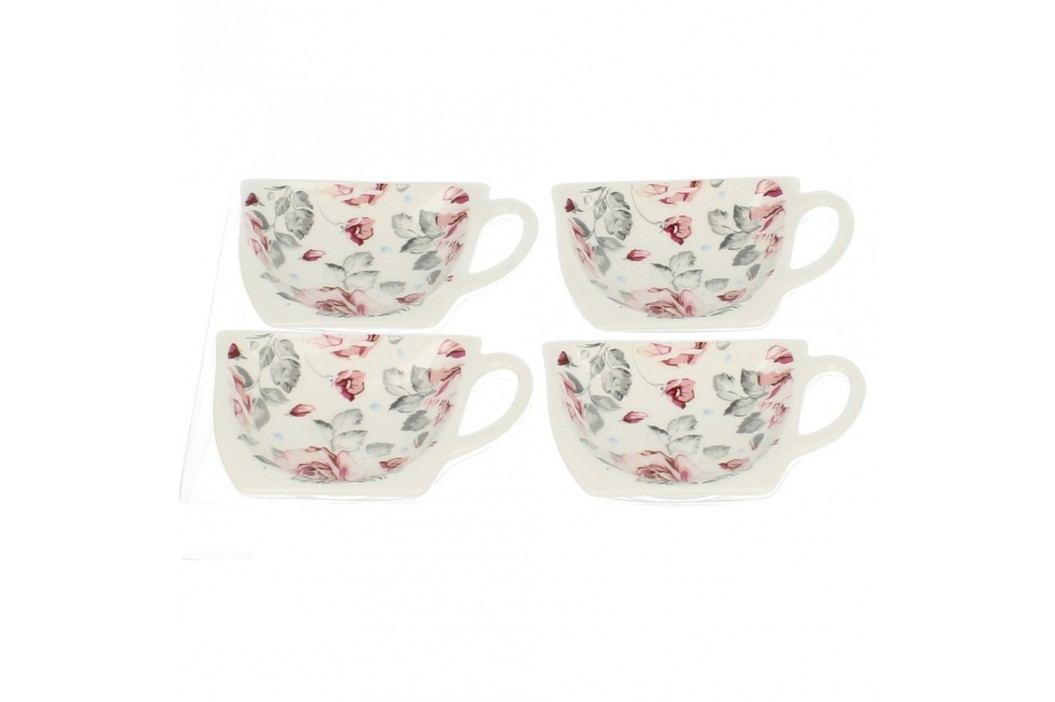 Set 4 suporturi pentru pliculețe de ceai Duo Gift Roses Cadouri